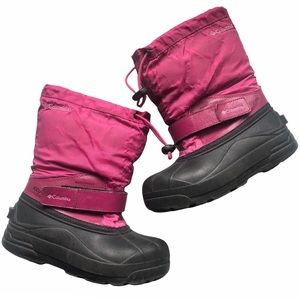 Columbia Girls Pink Winter Snow Boots